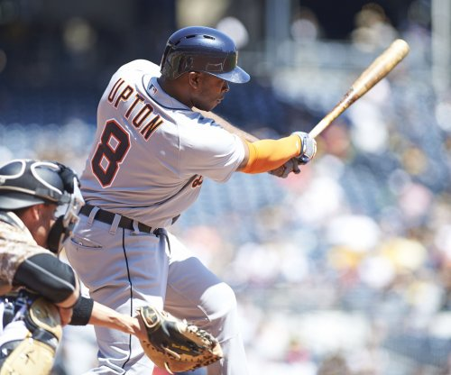 Justin Upton, Justin Verlander power Detroit Tigers past Los Angeles Angels