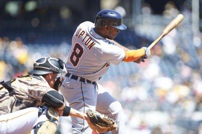 Justin Upton, Justin Verlander power Detroit Tigers past Los Angeles Angels