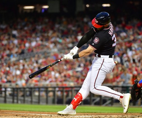 Bryce Harper: Nationals star hits NL-leading 15th bomb