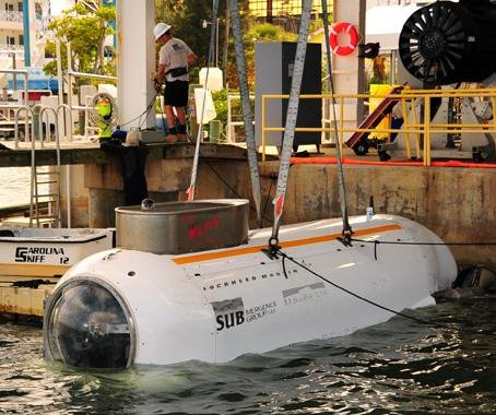 Lockheed gets $166 million dry submersible contract