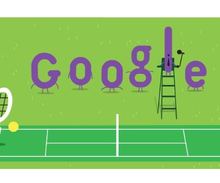 Google celebrates 140th anniversary of Wimbledon tournament with Doodle