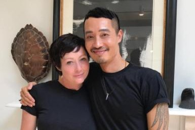 Shannen Doherty gets pixie cut after completing chemo