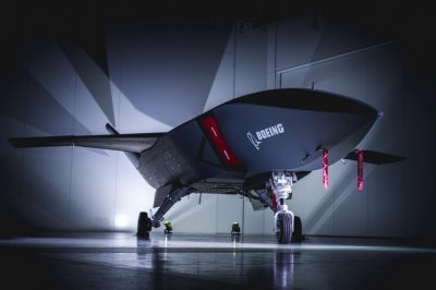 Boeing presents first Loyal Wingman drone aircraft to Australia