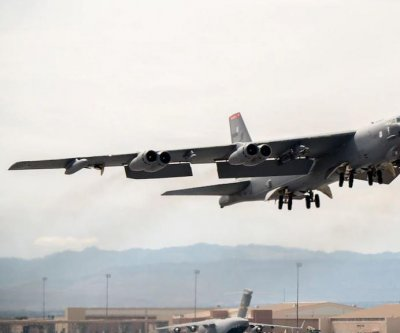 Spy planes join B-52 bomber in exercise over Black Sea