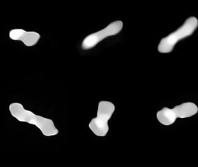 Very Large Telescope captures best images yet of 'dog-bone' asteroid