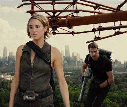 Shailene Woodley stars in first 'Allegiant' trailer