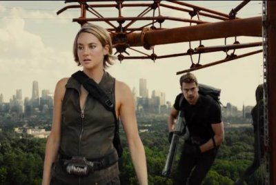 Shailene Woodley stars in first 'Allegiant' trailer