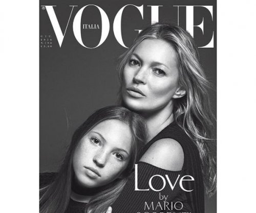 Kate Moss, daughter Lila Grace share Vogue Italia cover