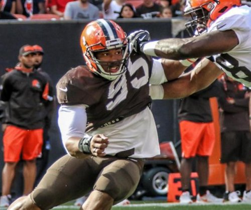 Cleveland Browns' Myles Garrett: No. 1 NFL draft pick now No. 1 DE