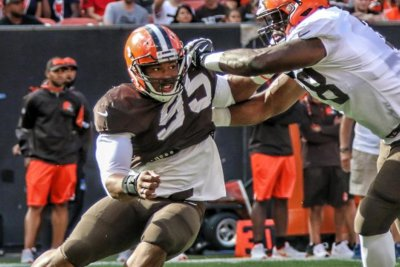 Cleveland Browns' Myles Garrett: No. 1 NFL draft pick now No. 1 DE