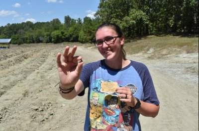 Arkansas park visitor finds 3.72-carat yellow diamond
