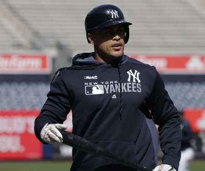 ALCS: New York Yankees' Giancarlo Stanton back in lineup after quad injury