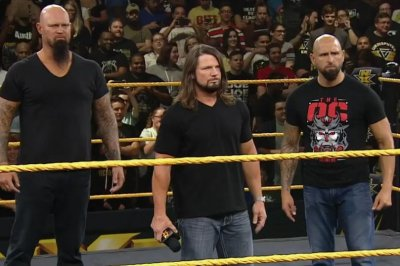 WWE NXT: Raw's AJ Styles, The O.C. invade black and gold brand