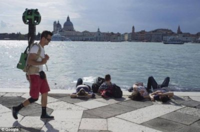 Google takes its Street View feature to the lanes of Venice in Italy