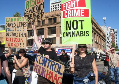 Feds silent on legalized pot initiatives