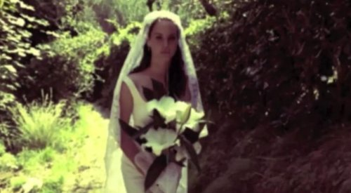 Lana Del Rey stars as a bride in 'Ultraviolence' video