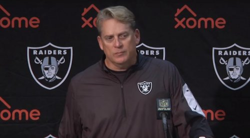 "Jack Del Rio cites ""Dumb and Dumber"" on Oakland Raiders playoff chances"
