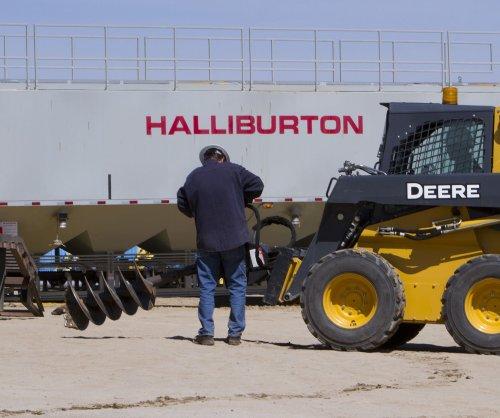 Halliburton turns a profit