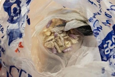 Police called when cat brings home bag of drugs