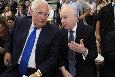 U.S. envoy attends opening of ancient East Jerusalem road amid opposition