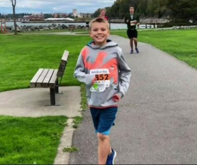 Illinois boy completes quest to run half marathons in all 50 states