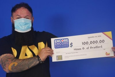 Ontario man wins his second lottery jackpot in three months