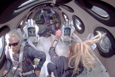 Billionaire Richard Branson goes into space, lands safely