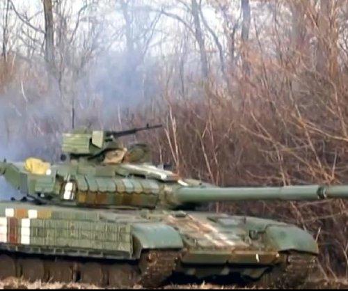 Rebels celebrate capture of Debaltseve, Ukraine
