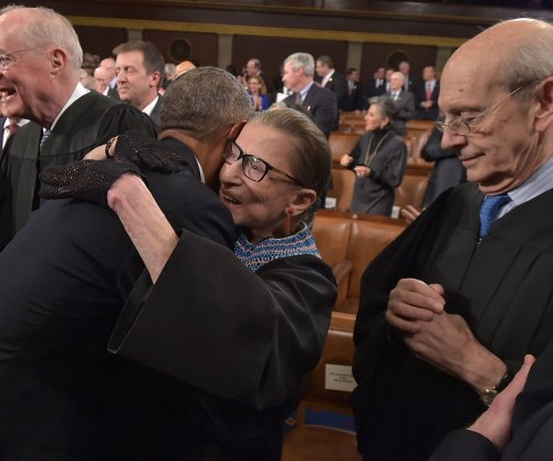 Supreme Court Justice Ruth Bader Ginsburg turns 82