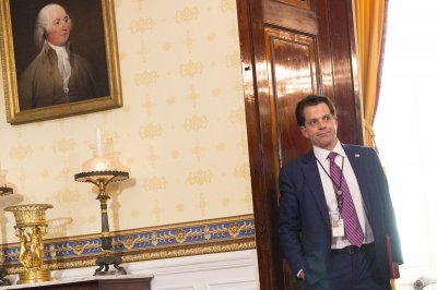 Scaramucci's wife filed for divorce July 6, gave birth to their son last week