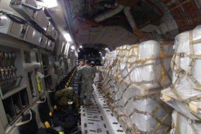 United States sends humanitarian aid to Venezuela