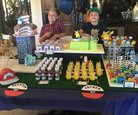 Britney Spears throws sons Pokemon-themed birthday party