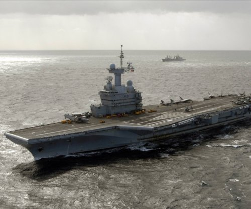 France begins aicraft carrier airstrikes against Islamic State targets in Mosul