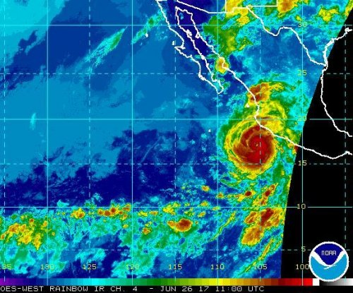 Hurricane Dora near Mexico becomes first of season