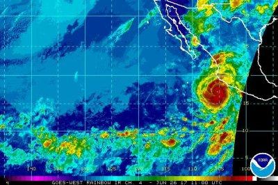 Hurricane Dora near Mexico becomes first of season