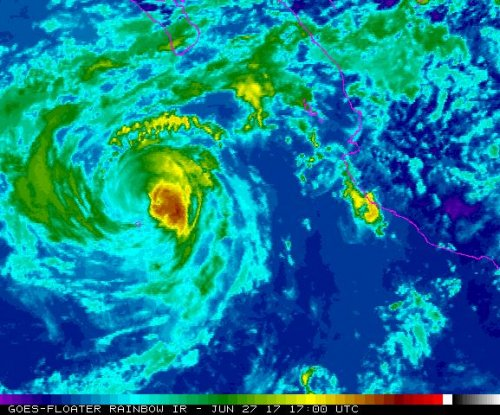 Hurricane Dora moves farther away from Mexican coast
