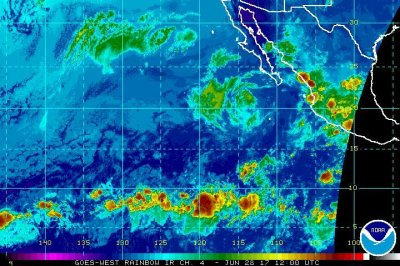 Dora weakens to tropical storm off Mexico's coast