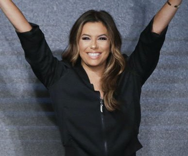 Eva Longoria goes casual at NYFW debut as designer