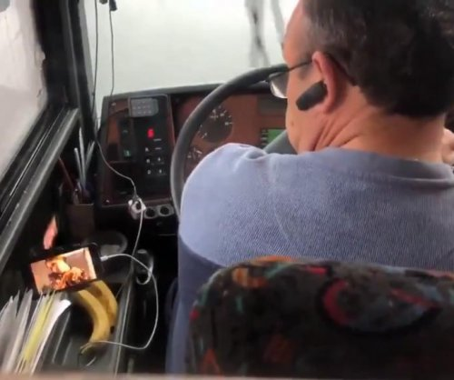 Bus driver fired for watching TV behind the wheel