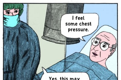 Comic-style brochure may help surgical patients understand their procedure