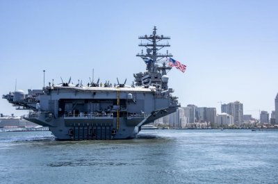 Nimitz Carrier Strike Group deploys from San Diego following quarantine
