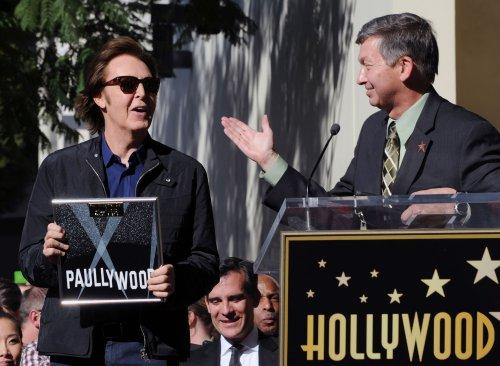 McCartney gets star on Hollywood Walk of Fame