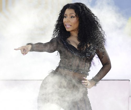 Nicki Minaj recites Maya Angelou during A&E benefit concert