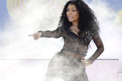 Nicki Minaj recites Maya Angelou during A&E benefit concert