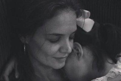 Katie Holmes cuddles daughter Suri Cruise in new photos