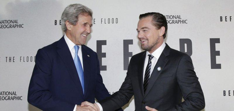 Leonardo DiCaprio brings 'Before the Flood' to the United Nations - UPI.com