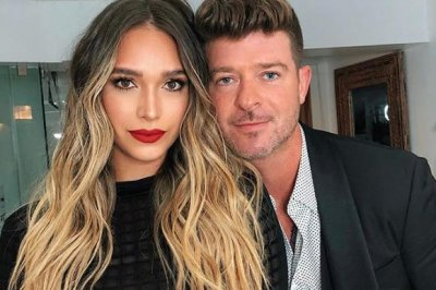 Robin Thicke, April Love Geary expecting second daughter