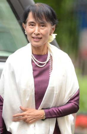Suu Kyi attends session of Parliament