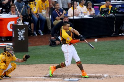 Giancarlo Stanton bashes his way to Home Run Derby victory