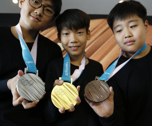 PyeongChang Olympic medals highlight Korean alphabet
